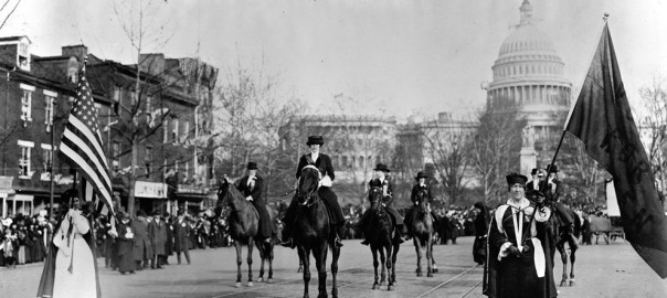 suffrage/ feminism: 1913 Suffrage March, Wash. DC (13)