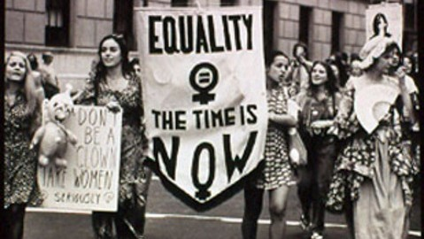 sexism/ equality: the time is now