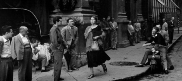 harassment: American Girl in Italy (C) Ruth Orkin (larger)