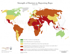 misc. - worldwide strength of barriers to reporting rape (womanstats.org)