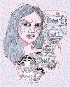 feminism - street harassment - don't tell me to smile (c) Anna Toman