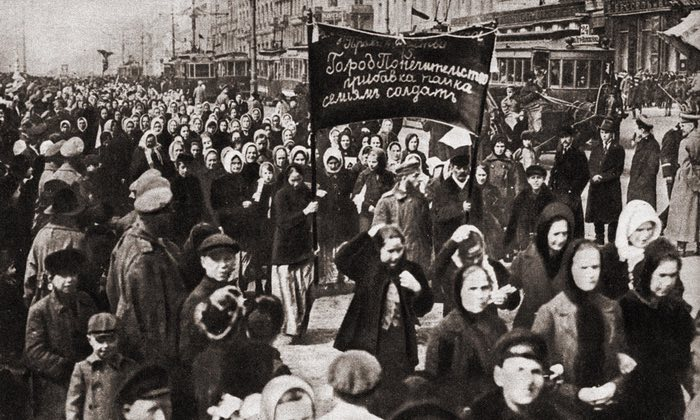 #anonymouswasawoman: #HERstory: the women's protest that sparked the Russian revolution
