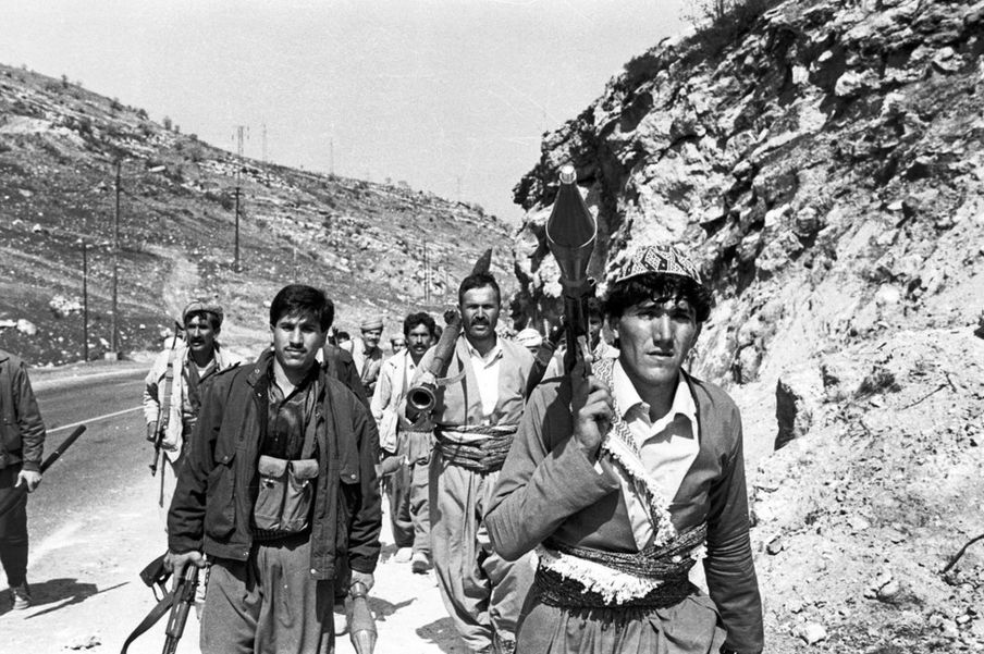 #picturethis: Remembering the Kurdish uprising of 1991 on BBC news