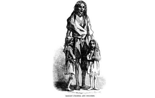 #anonymouswasawoman: #HERstory: Bridget O'Donnel, a victim of Ireland's Great Hunger, was interviewed by The Illustrated London News in 1849