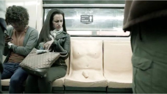 #womenslives: Mexico City's metro's 'penis seat'