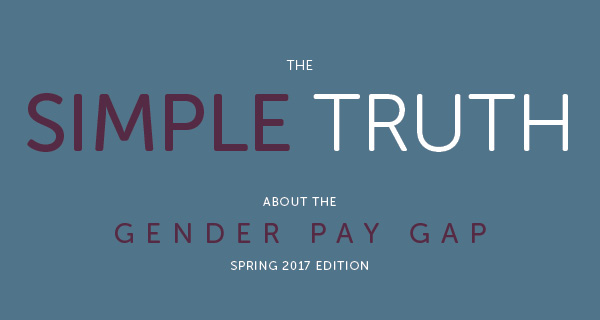 #patriarchiesrealign:The simple truth about the gender pay gap (Spring 2017)– @aauw From introduction to report: In 2015, women…