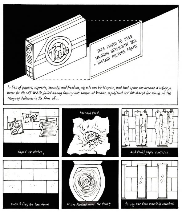 #womensstories: a graphic novel illustrates the architecture of immigration detention