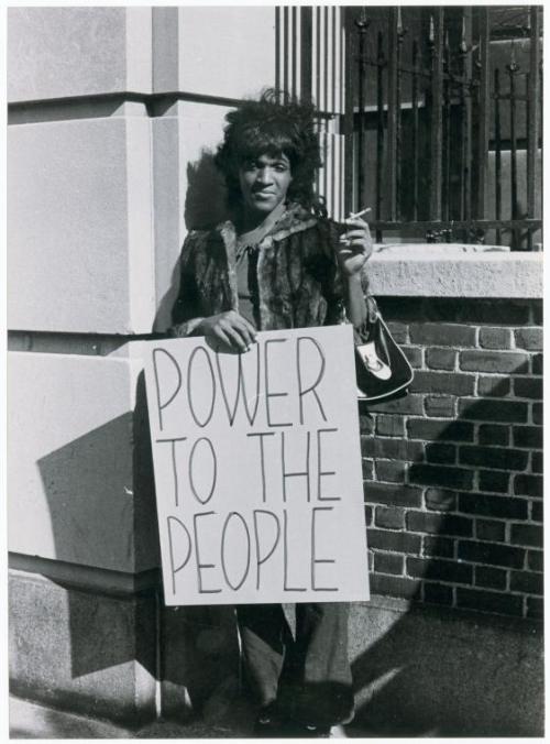 #anonymouswasawoman: #HERstory: Marsha P. Johnson, the hero. Not some white man.