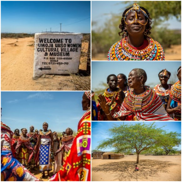 #picturethis: The village where men are banned Umoja in Kenya