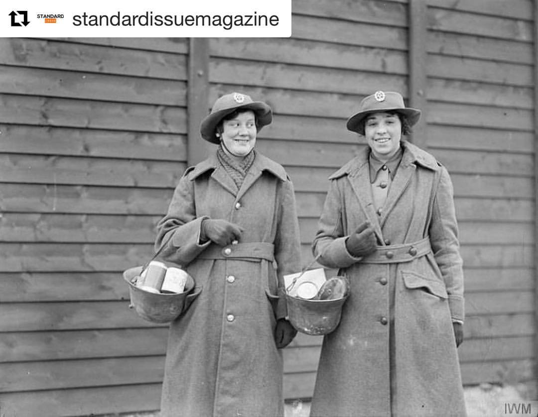 #anonymouswasawoman: #HERstory: One hundred years ago this month, the Women's Auxiliary Corps