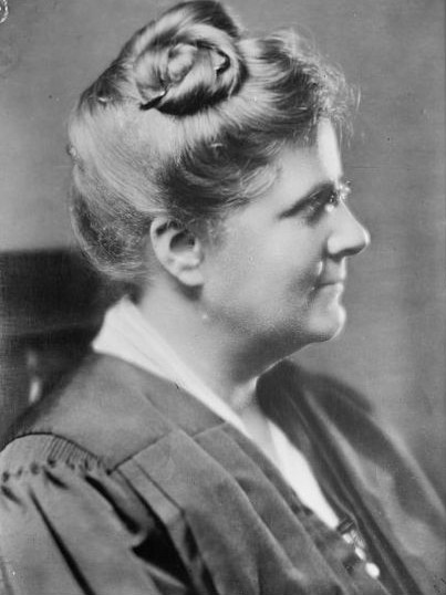 #anonymouswasawoman: #HERstory: Florence Ellinwood Allen (1884-1966) was the first woman