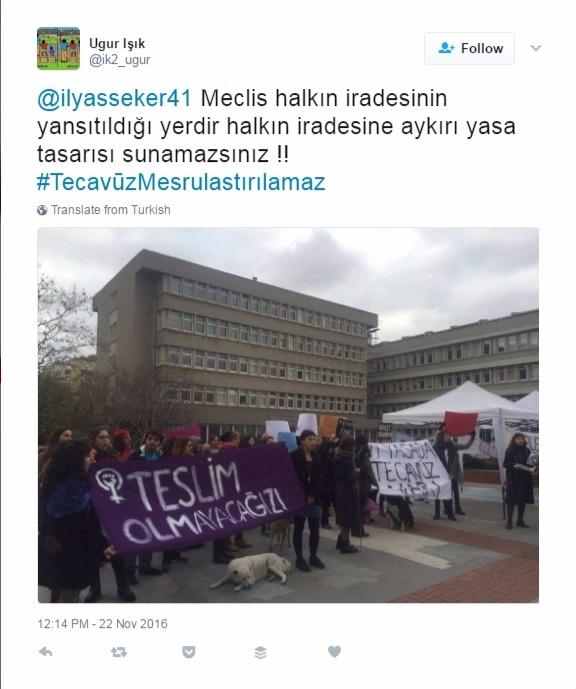 #vivelafeminism: Turkish women rising