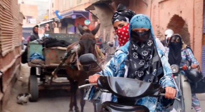 #womensstories: these Muslim women are not like those Muslim women, Hajjaj's images say