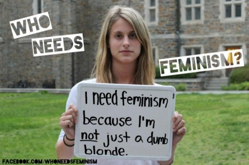 #vivelafeminism: Who needs feminism (another take)